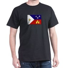 Flag of Acadiana T-Shirt