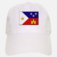 Flag of Acadiana Baseball Baseball Cap