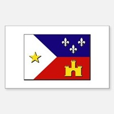 Flag of Acadiana Decal