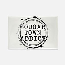 Cougar Town Addict Rectangle Magnet