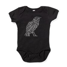 Raven Word Cloud Baby Bodysuit