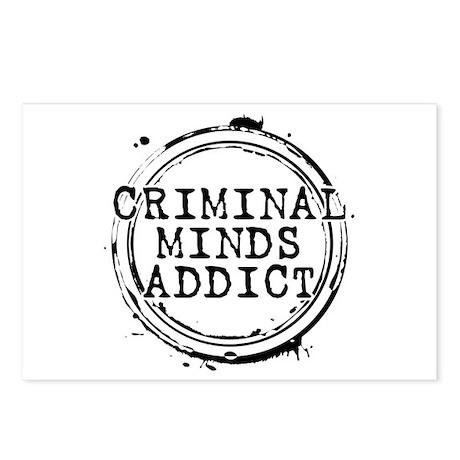 Criminal Minds Addict Postcards (Package of 8)