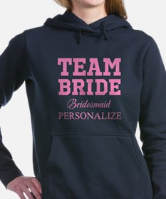 Team Bride | Personalized Wedding Women's Hooded S