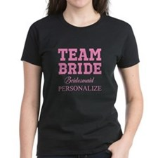 Team Bride | Personalized Maid Of Honor T-Shirt