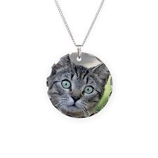Cute Whiskers the cat Necklace
