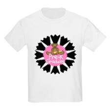 Bear Pre-K Graduate (pink) T-Shirt
