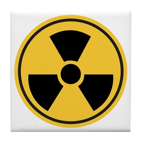 Toxic tile coaster by xcaliburdesigns - Radioactive coasters ...