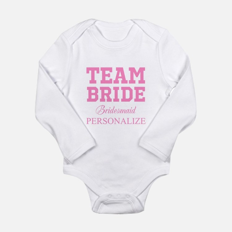 Team Bride | Personalized Wedding Body Suit