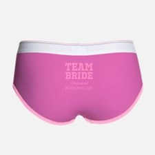 Team Bride | Personalized Wedding Women's Boy Brie