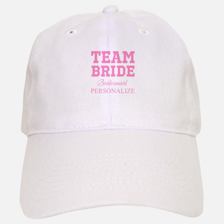 Team Bride | Personalized Wedding Baseball Cap