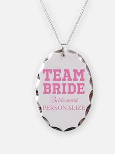 Team Bride | Personalized Wedding Necklace