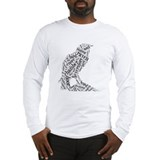 Nevermore raven Long Sleeve T-shirts