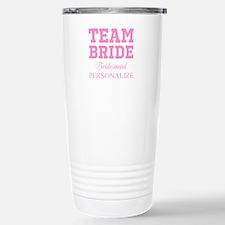 Team Bride | Personalized Wedding Travel Mug