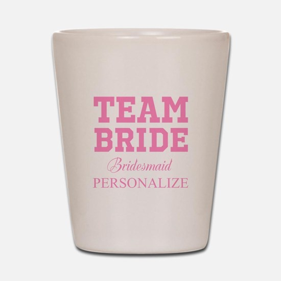 Team Bride | Personalized Wedding Shot Glass