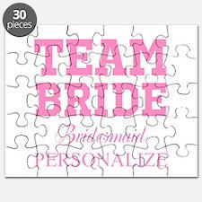 Team Bride | Personalized Wedding Puzzle