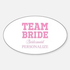 Team Bride | Personalized Wedding Decal