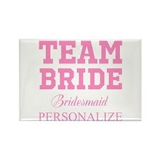 Team Bride | Personalized Wedding Magnets