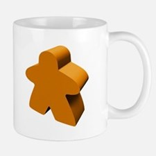 Orange Meeple Mug