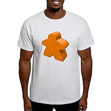 Orange Meeple T-Shirt