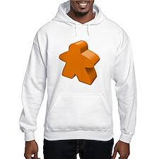 Orange Meeple Hoodie