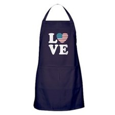 Love USA Apron (dark)