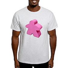 Pink Meeple T-Shirt