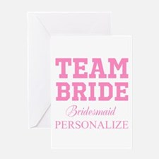 Team Bride | Personalized Wedding Greeting Cards