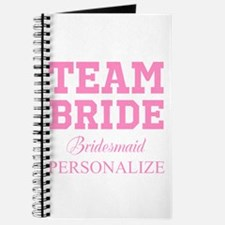 Team Bride | Personalized Wedding Journal