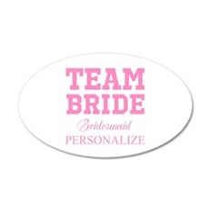 Team Bride | Personalized Wedding Wall Decal