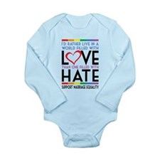 Love Over Hate Body Suit