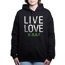 Live Love X-Ray Women's Hooded Sweatshirt