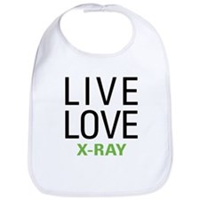 Live Love X-Ray Bib