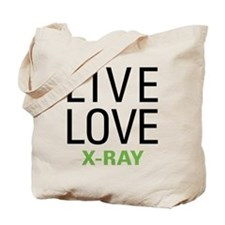 Live Love X-Ray Tote Bag