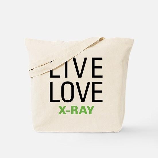 Live Love X-Ray Tote Bag