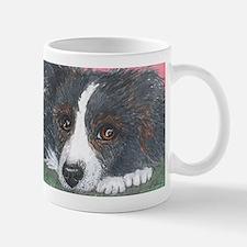 Thoughtful Border Collie dog Mugs