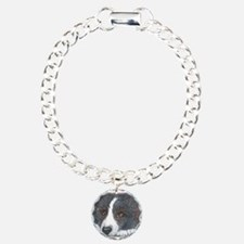 Thoughtful Border Collie dog Bracelet