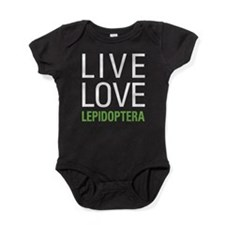 Live Love Lepidoptera Baby Bodysuit