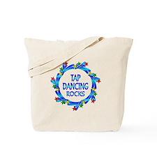 Tap Dancing Rocks Tote Bag