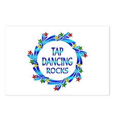 Tap Dancing Rocks Postcards (Package of 8)