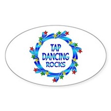 Tap Dancing Rocks Decal