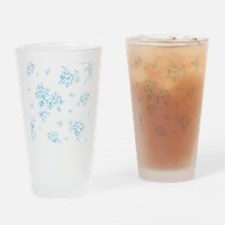 Bunch of Forget-Me. Drinking Glass