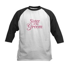 Sister of the Groom (rose) Tee