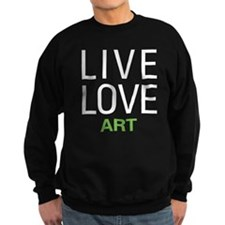 Live Love Art Jumper Sweater