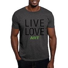 Live Love Art T-Shirt