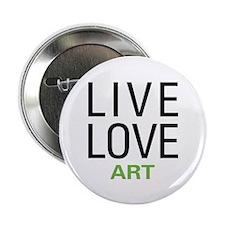 "Live Love Art 2.25"" Button (10 pack)"