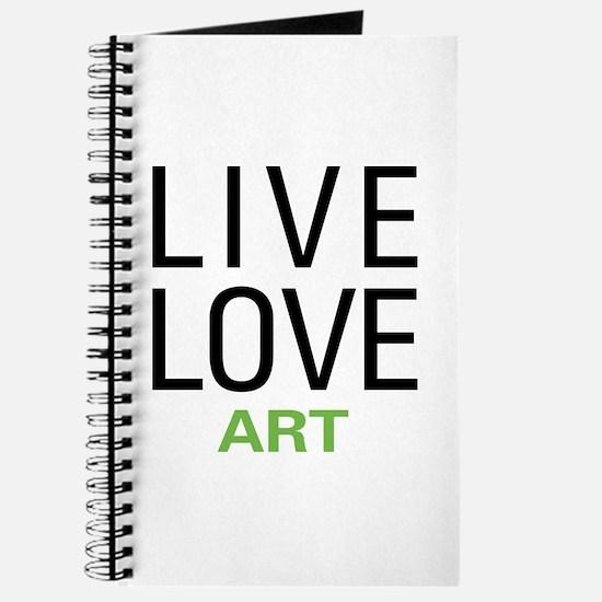 Live Love Art Journal