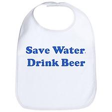 Save Water,  Drink Beer  Bib