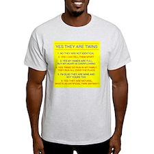 TWINS QUESTIONS NO T-Shirt