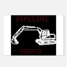 pipeline proud Postcards (Package of 8)