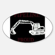 pipeline proud Bumper Stickers